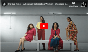 shoppers stop festival creative