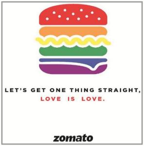 Zomato online creative
